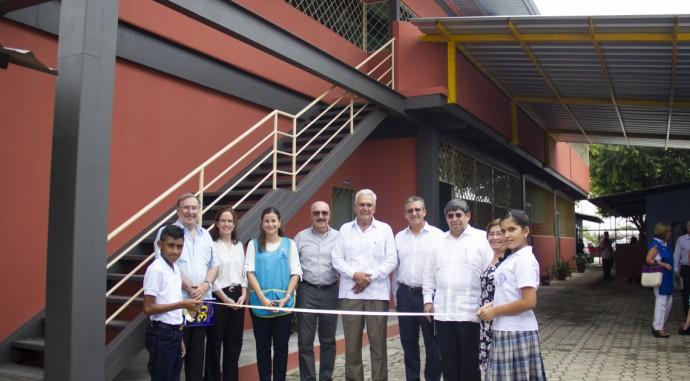 foto de Inauguración de aulas en Los Lojas