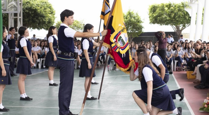 foto de Juramento a la Bandera 2019