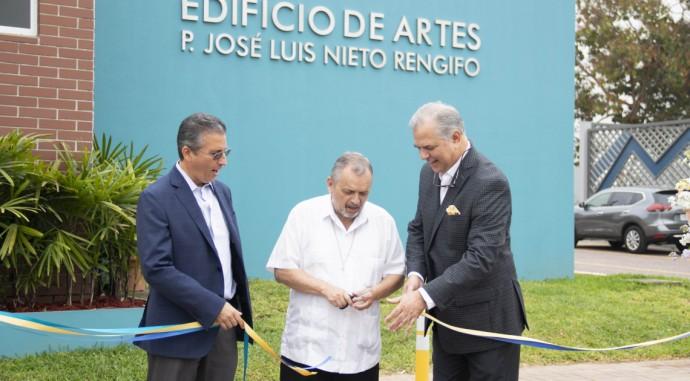 foto de Edificio de Artes: P. José Luis Nieto