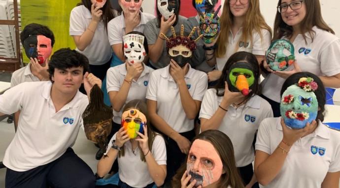 foto de Arte en máscaras