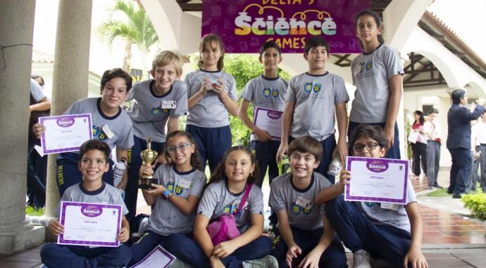 foto de PRIMER LUGAR en el Delta's Science Games
